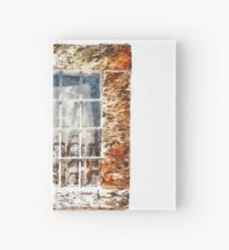 Window With Shadow On The Wall Hardcover Journal