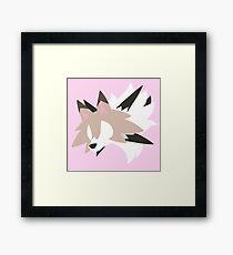 Lycanroc - Midday Form Framed Print