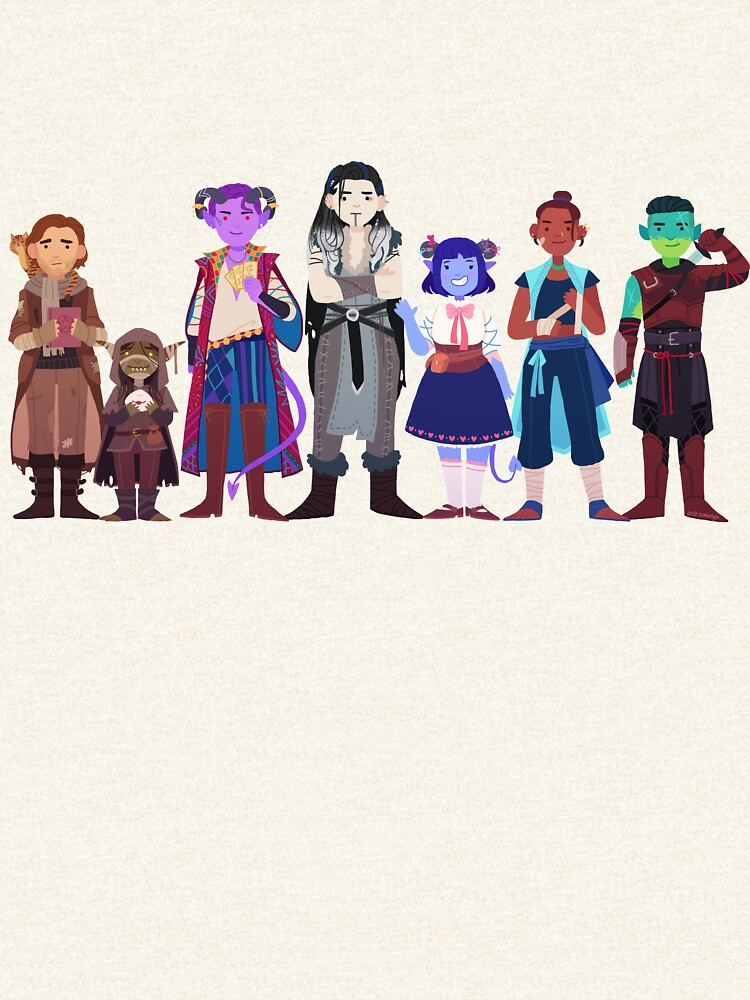 Critical Role Cuties 2 by sumenya