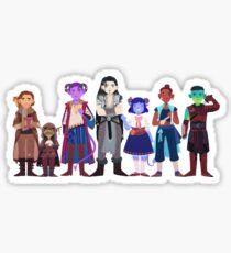 Critical Role Cuties 2 Sticker