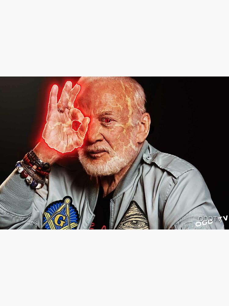 666 Buzz Aldrin NASA Snake by ODDTV