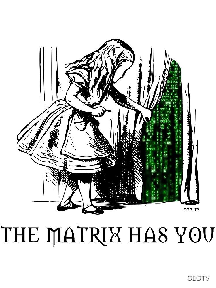 Alice in the Wonderland Matrix Rabbit Hole  by ODDTV