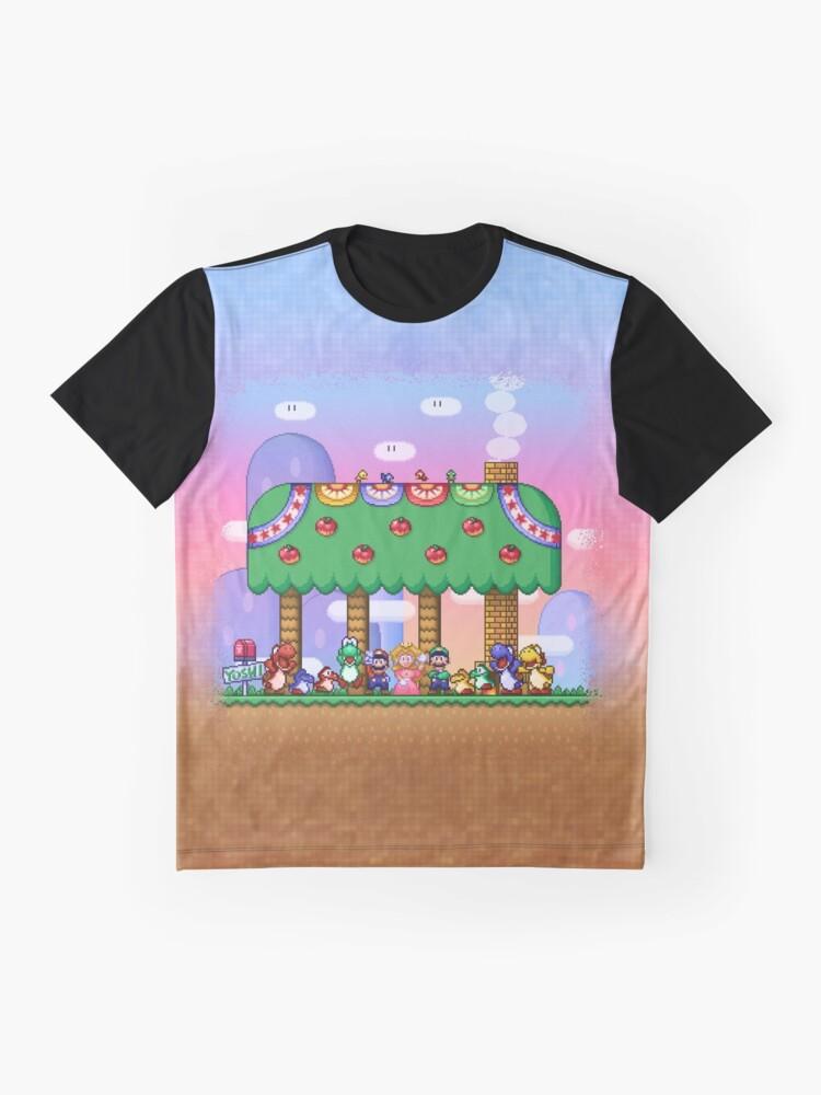 Vista alternativa de Camiseta gráfica El mundo de Super Mario