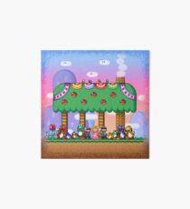 Super Mario World Art Board