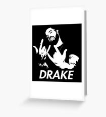 DRAKEROLL Greeting Card