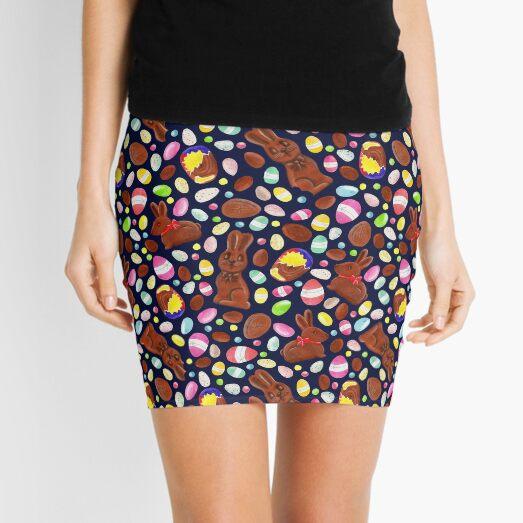 Easter Egg Bounty - Navy Mini Skirt