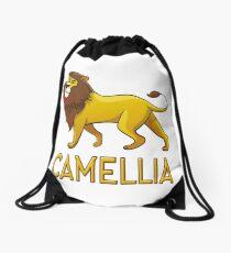 Camellia Lion Drawstring Bags Drawstring Bag
