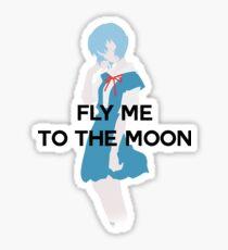 Pegatina Evangelion - Rei Ayanami Ending
