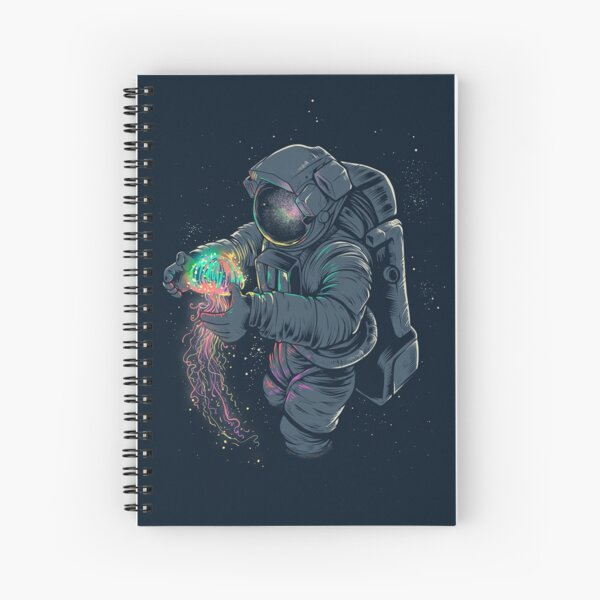 Jellyspace Spiral Notebook