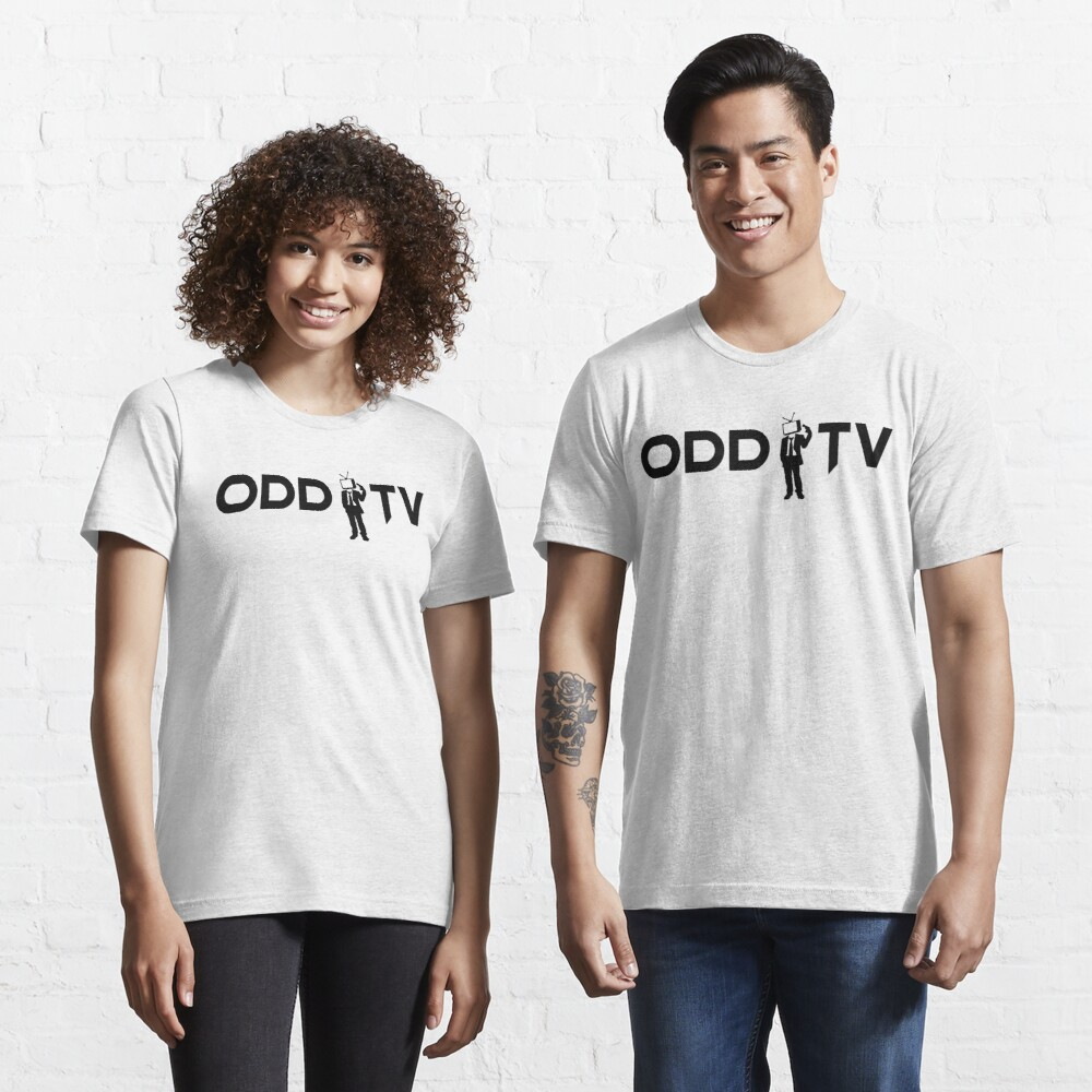 ODD TV Lone Gunman Black Essential T-Shirt