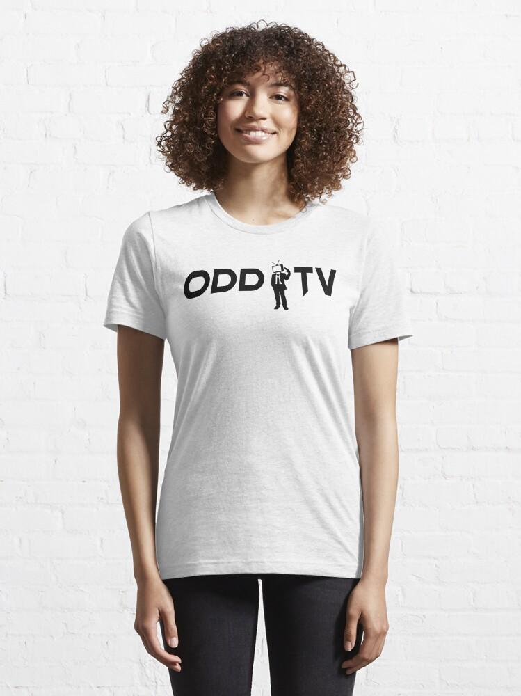Alternate view of ODD TV Lone Gunman Black Essential T-Shirt