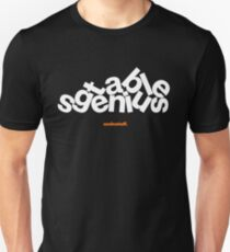 16229-02-BDK – Stable Genius – Groundbreaking (White) Unisex T-Shirt