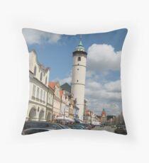 Domazlice, Czech Republic Throw Pillow