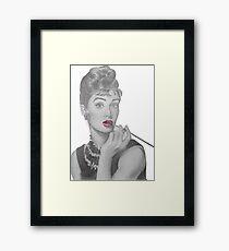 Fashion Icon Framed Print