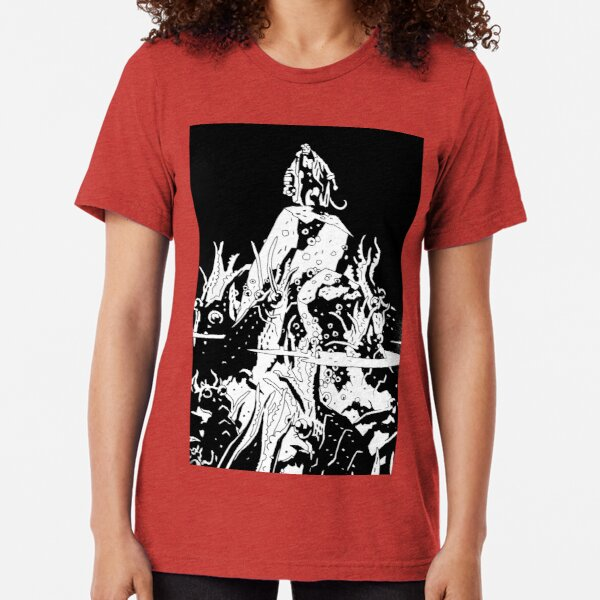 Hellboy in the Abyss Tri-blend T-Shirt