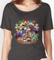 Paper Mario: TTYD Speedrunning Community Women's Relaxed Fit T-Shirt