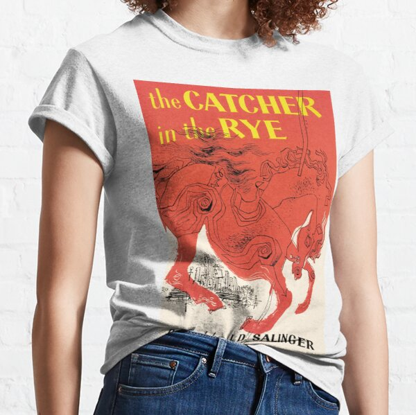 Catcher In The Rye Book Cover Classic T-Shirt