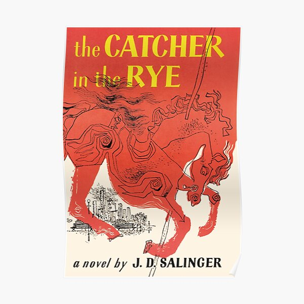Catcher In The Rye Book Cover Poster