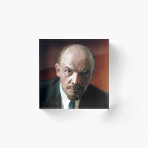 Lenin Acrylic Block