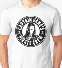 Captain Vanes Pirate Crew Unisex T-Shirt