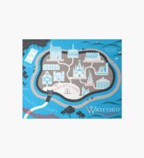 Watford School of Magicks Karte - weitermachen Galeriedruck
