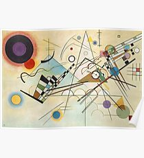Composition 8 Painting  Poster