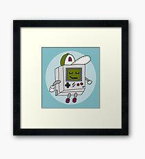 Happy Gameboy Framed Print