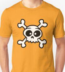 skull funny pirat cartoon Unisex T-Shirt