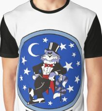 F-14 Tomcat VF-14 Tophatters Graphic T-Shirt