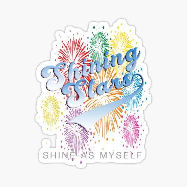 Shining Stars T-Shirt Sticker