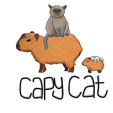 Capy Cat by jackbattle6