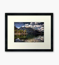 Jenny Lake at Grand Tetons I Framed Print