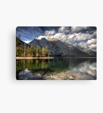 Jenny Lake at Grand Tetons I Metal Print