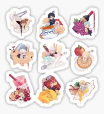 Mystic Messenger Foods (default) (MC1) (must buy Medium, Large, or Extra Large) Sticker