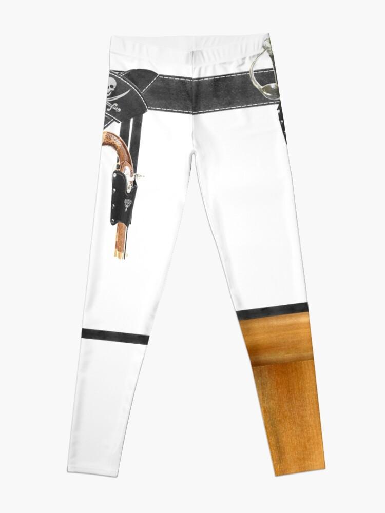 Alternate view of Peg Leg Pirate  Leggings