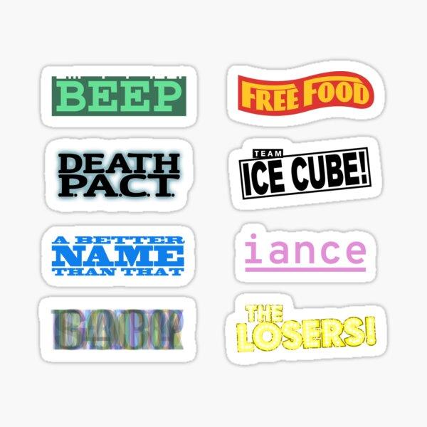 Team Logos Sticker