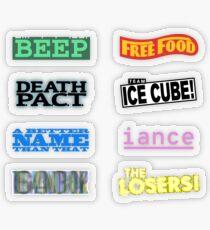 Team Logos Transparent Sticker
