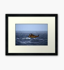 Rescue Operation Framed Print