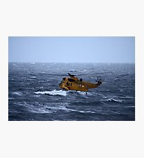 Rescue Operation Photographic Print