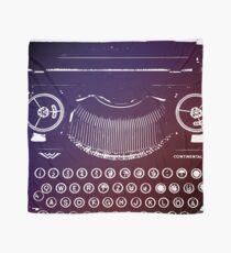 Typewriter Graphic Scarf