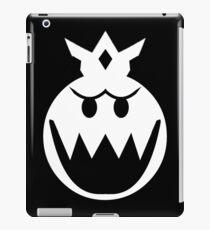Simplistic King Boo Emblem iPad Case/Skin