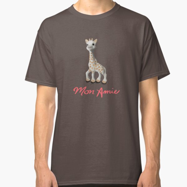 Mon Amie - Sophie (the giraffe) Drawing Classic T-Shirt