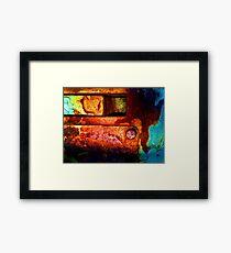 Rust 28 Framed Print