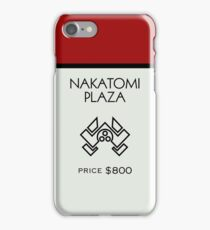 Nakatomi Plaza - Property Card iPhone Case/Skin