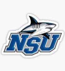 nsu - nova southeastern Sticker