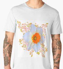 SPRING DAFFODIL SCROLLS ART  Men's Premium T-Shirt
