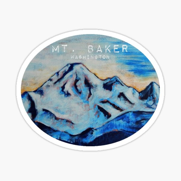 Mt. Baker Washington Sticker