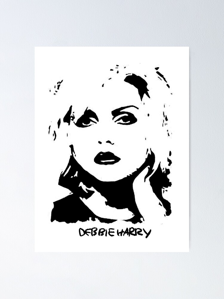 1 Blondie Print American Rock Band Picture Debbie Harry Singer Music Poster