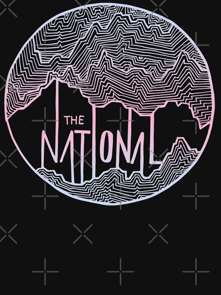 Die nationale Linie Kunst von KrisKarlson