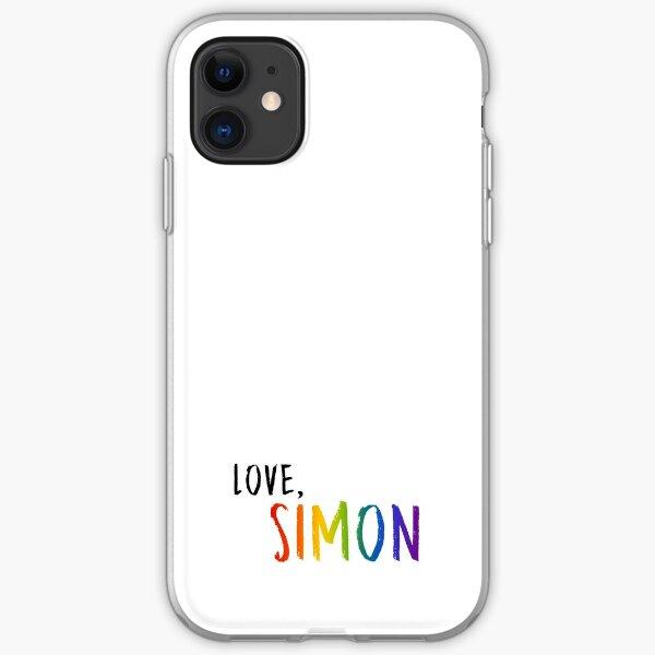Love, Simon - Pride Rainbow iPhone Soft Case